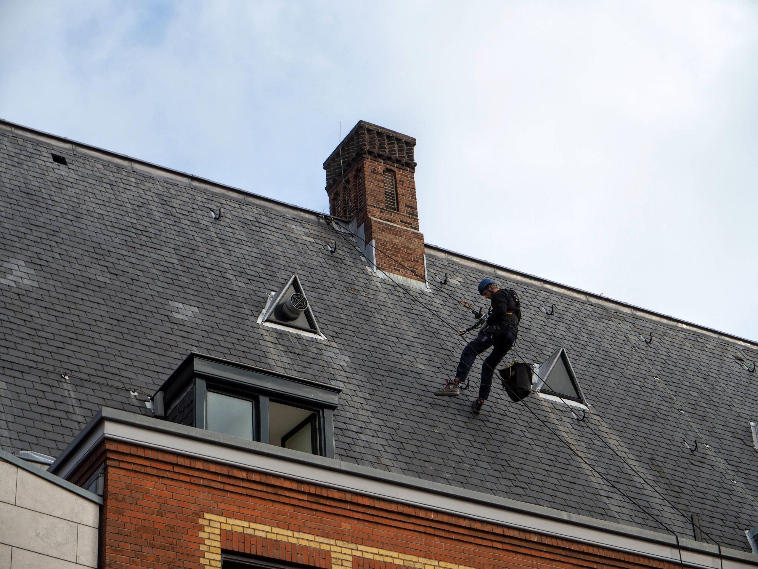Ladderhakken vervangen Amsterdam
